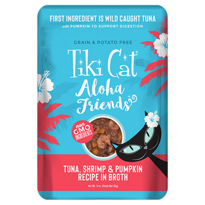 TIKI CAT ALOHA TUNA/SHRIMP/PUMP PCH 3OZ