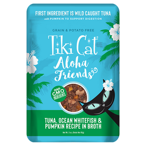 TIKI CAT ALOHA TUNA/FISH/PUMP PCH 3OZ