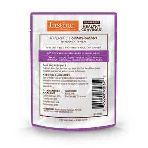 NV INSTINCT HEALTHY CRAVE RABBIT CAT 85G
