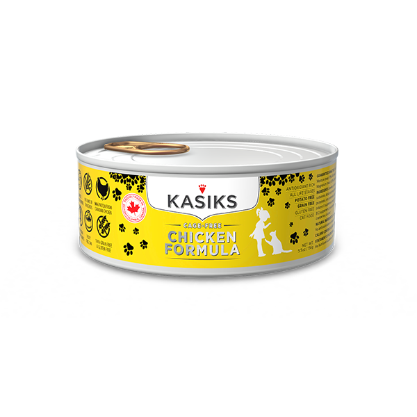 KASIKS CF CHICKEN CAT CAN 5.5OZ