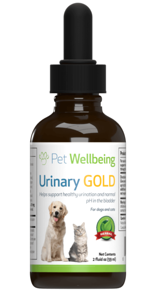 PET WELLBEING URINARY GOLD 4OZ