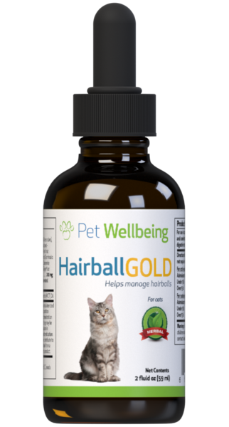 PET WELLBEING HAIRBALL GOLD 2OZ