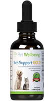 PET WELLBEING ITCH SUPPORT GOLD 4OZ
