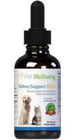 PET WELLBEING KIDNEY SUPPORT GOLD 4OZ