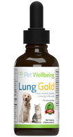 PET WELLBEING LUNG GOLD 4OZ