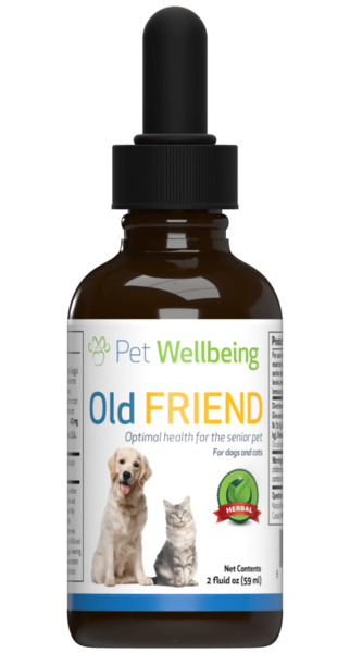 PET WELLBEING OLD FRIEND 2OZ