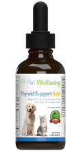 Load image into Gallery viewer, PET WELLBEING THYROID GOLD 4OZ