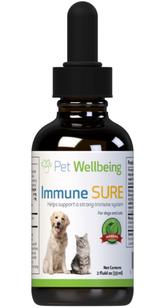 PET WELLBEING IMMUNE SURE 2OZ