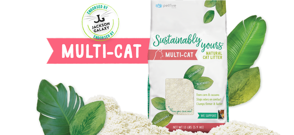SUSTAINABLY YOURS CAT LITTER 13LB