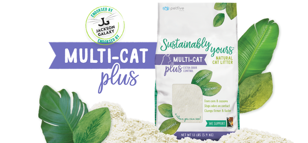 SUSTAINABLY YOURS CAT LITTER PLUS 13LB