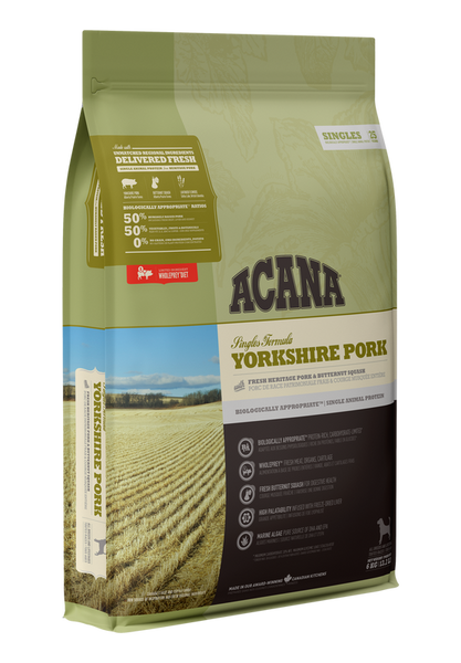 ACANA SINGLE YORKSHIRE PORK DOG 2KG
