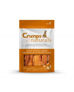 CRUMPS NATURALS SWEET POTATO CHEWS 330G