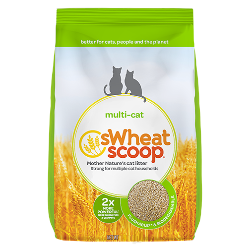 SWHEAT SCOOP MULTI CAT LITTER 11.36KG