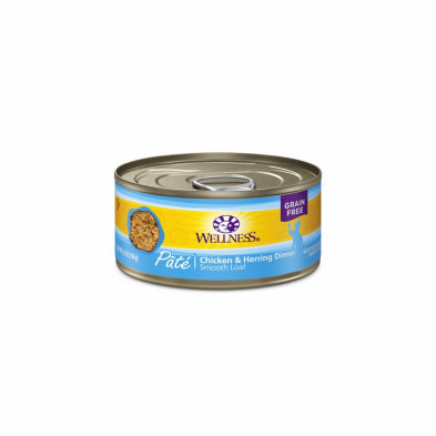 WS CHICKEN/HERRING CAT CAN 155G