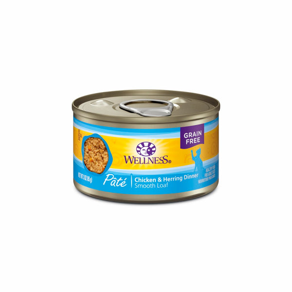 WS CHICKEN/HERRING CAT CAN 85G