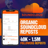 ORGANIC SOUNDCLOUD Reposts