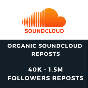 ORGANIC Soundcloud Promotion