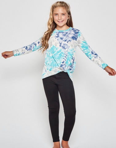 Tween Paint Print Top