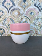 Load image into Gallery viewer, Santa Fe (Pink/Gold) - XS Terracotta