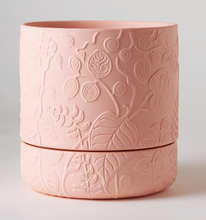 Load image into Gallery viewer, Folia Relief Plant Pot Coral