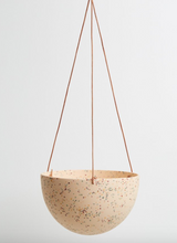 Load image into Gallery viewer, Terrazzo Dome Hanging Pot Salt