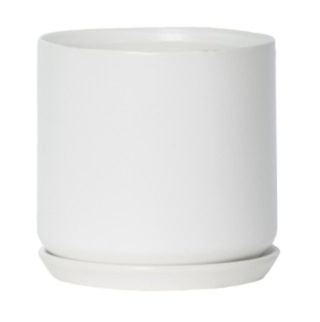 Large Oslo Planter White