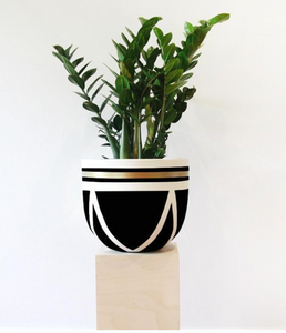 Ivy Pot - Black