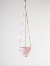 Load image into Gallery viewer, Macrame Hanging Planter Bright Pink