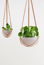 Load image into Gallery viewer, Macrame Hanging Planter Grey