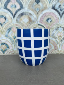 Grid (Royal Blue on White) - Small Lightweight