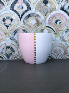 Sorrento (Pink/Gold) - Small Terracotta