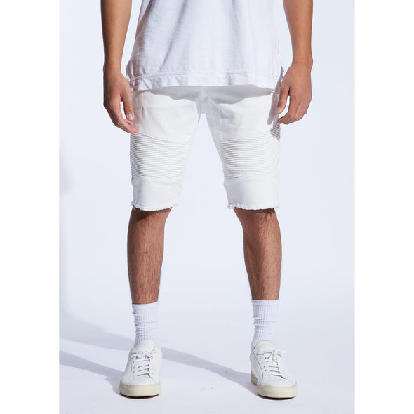 SPENCER SHORTS (WHITE) (4929207304237)