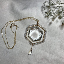 Load image into Gallery viewer, ((Alchemy Collection)) Rainbow Moonstone Necklace