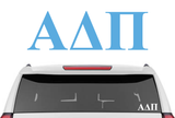 "3"" Alpha Delta Pi Decal"