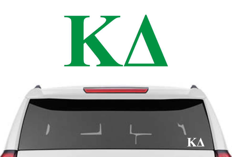 "1.5"" Kappa Delta Decal"