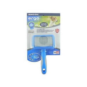 Ancol Ergo Universal Slicker Brush-variable-Oh Doggy