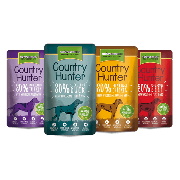 Natures Menu Country Hunter Superfood Selection Multipack 12 x 150g