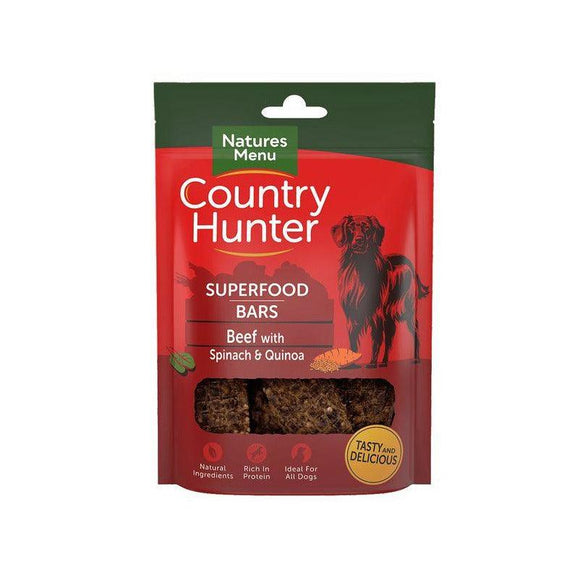 Country Hunter Superfood Bars Beef-simple-Oh Doggy