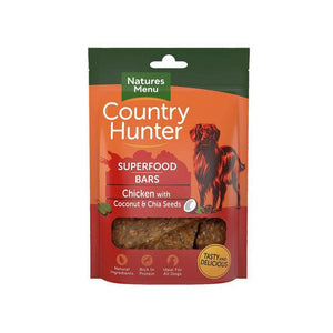 Country Hunter Superfood Bars Chicken-simple-Oh Doggy