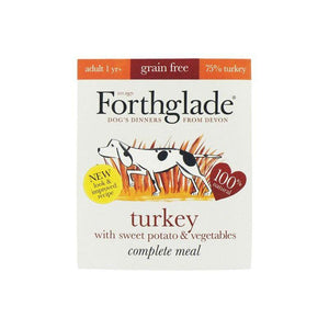 Forthglade Turkey with Brown Rice & Vegetables-Oh Doggy