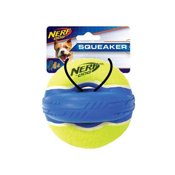 Nerf Dog Max Court Elite Squeak X-Ring-Oh Doggy