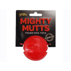 Mighty Mutts Rubber Ball-Oh Doggy