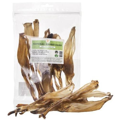 JR Pet Products Natural Rabbits Ears 100g-Oh Doggy