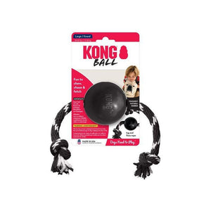 KONG Extreme Ball with Rope-Oh Doggy