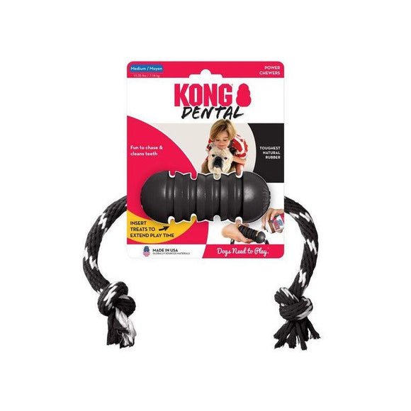 KONG Extreme Dental with Rope-Oh Doggy
