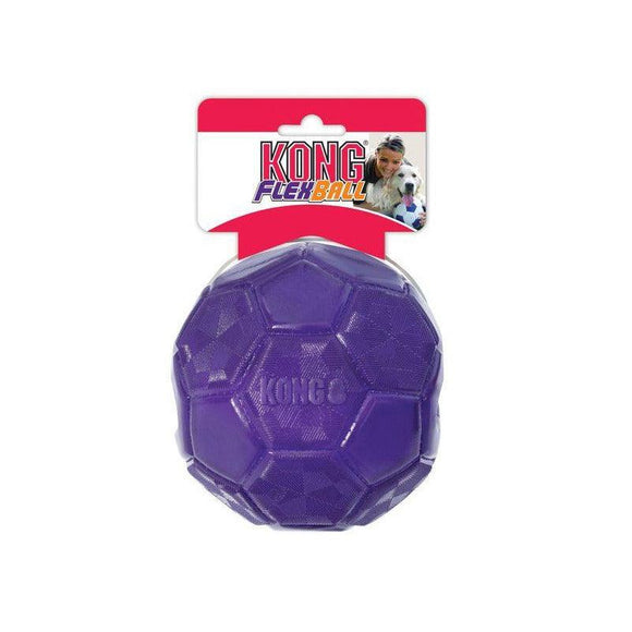 KONG Flexball Dog Toy Medium/Large-Oh Doggy