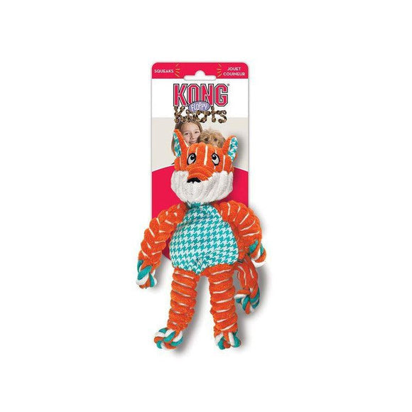 KONG Floppy Knots Fox