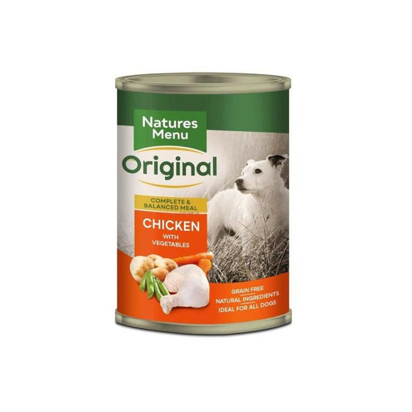 Natures Menu Adult Dog Chicken Can 400g
