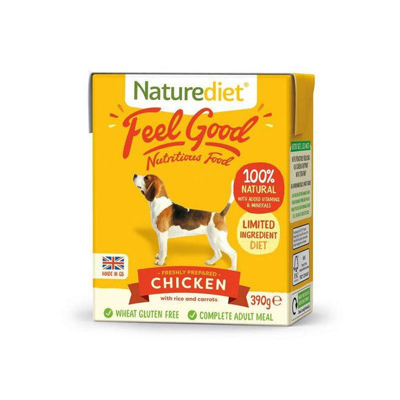 Naturediet Feel Good Dog Food - Chicken - Oh Doggy