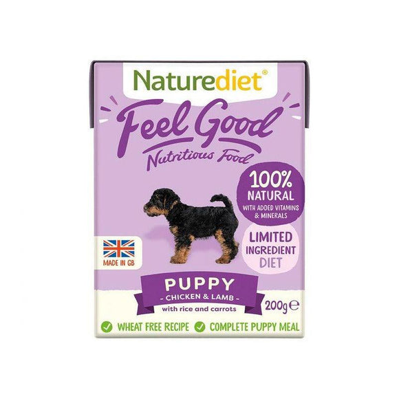 Naturediet Feel Good Dog Food - Puppy - Oh Doggy